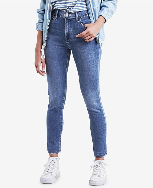 Levi's 720 High-Rise Super-Skinny Jeans