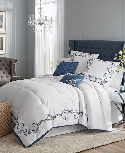 Idea Nuova Hotel Style 5 Piece Vivien Bedding Set - Queen