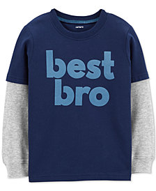 Carter's Baby Boys Best Bro Graphic Cotton T-Shirt