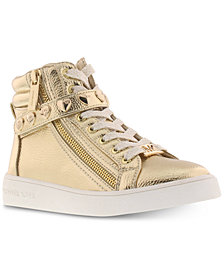 Michael Kors Little & Big Girls Ivy Iris Hi-Top Sneakers