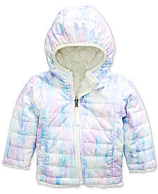 The North Face Infant Girls Reversible Puffer Jacket
