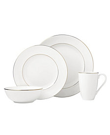 Lenox Continental Dining Gold 4 Piece Place Setting