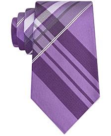 Men's Plaid Slim Tie