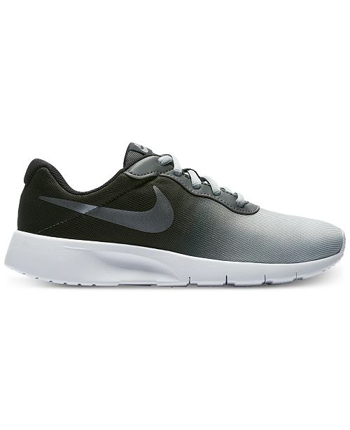 afd6e87175a Nike Boys  Tanjun Print Casual Sneakers from Finish Line   Reviews ...