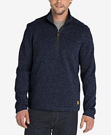 G.H. Bass & Co. Men's Madawaska 1/4-Zip Fleece Sweater