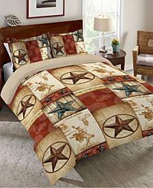 Laural Home Rodeo Patch  Queen Comforter