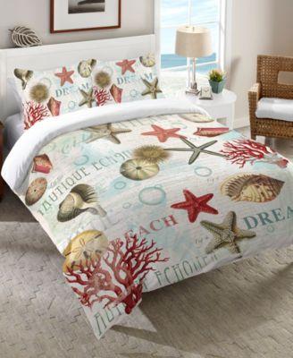 Dream Beach Shells  Queen Comforter
