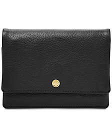 Fossil Aubrey Multifunction Pebble Leather Wallet