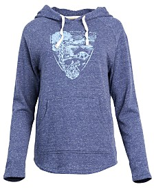 United by Blue Women's Parks Pennant Pullover Hoodie, from Eastern Mountain Sports