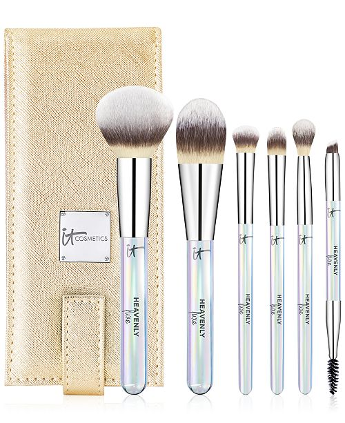 IT Cosmetics 7-Pc. Heavenly Luxe On The Go! Brush Set, Created For Macy's, A $140 Value!