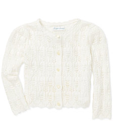 Polo Ralph Lauren Baby Girls Pointelle Cardigan