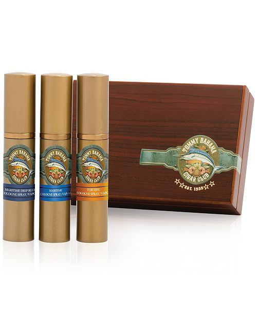Tommy Bahama Men's 3-Pc. Cigar Gift Set