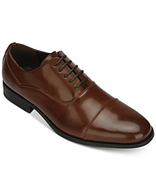 Unlisted by Kenneth Cole Men's Sphere Cap-Toe Oxfords