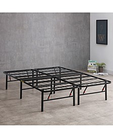 "Hercules 14"" Platform Metal Bed- California King"