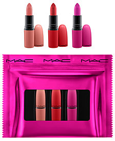 MAC 3-Pc. Shiny Pretty Things Lip Set - Limited Edition, Created for Macy's, A $55.50 Value!