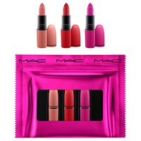 3-Piece MAC Shiny Pretty Things Limited Edition Lip Set