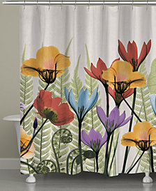 Botanicals Shower Curtain