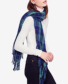 Free People Juniors' Emerson Plaid Scarf