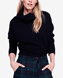 Free People Kitty Cowl-Neck Top