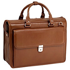 McKlein S Series GRESHAM Leather Litigator Laptop Briefcase