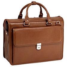 McKlein S Series GRESHAM Leather Litigator Laptop Briefcase