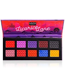 NYX Professional Makeup Licorice Lane Shadow Palette