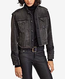 Polo Ralph Lauren Embroidered Trucker Jacket