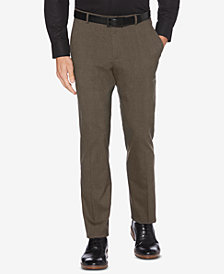 Perry Ellis Men's Slim-Fit Stretch Plaid Pants