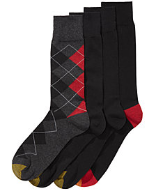 Gold Toe Men's 4-Pk. Argyle Socks