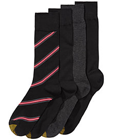 Gold Toe Men's 4-Pk. Striped Socks