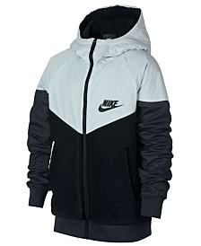 81cd3f6ab451 Nike Big Boys Varsity Bomber Jacket   Reviews - Coats   Jackets ...