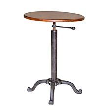 Logan Adjustable Side Table, Quick Ship