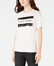 "Carbon Copy Juniors' ""Love More"" T-Shirt"