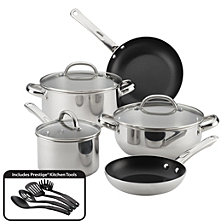 Farberware Buena Cocina 12-pc Stainless Steel Cookware Set