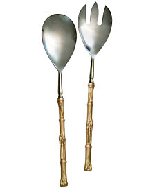 Michael Michaud Bamboo Serving Set