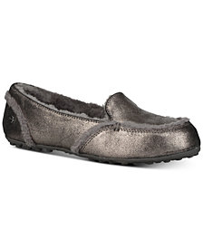UGG® Women's Hailey Metallic Slippers
