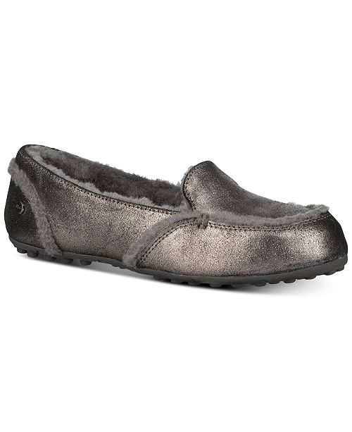 244e00fdbcf UGG® Women's Hailey Metallic Slippers & Reviews - Slippers - Shoes ...