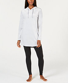 Alfani Velvet Tunic Pajama Top, Created for Macy's