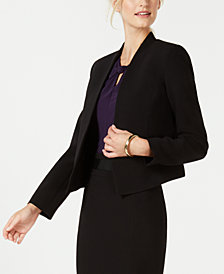 Nine West Open-Front Jacket