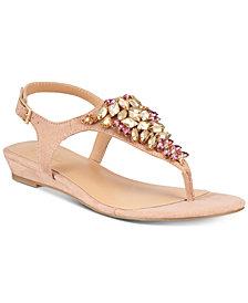 Thalia Sodi Imanie Flat Sandals, Created for Macy's