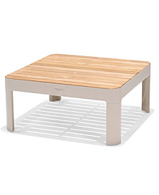 Modern Tropic Teak Outdoor Coffee Table, Created For Macy's
