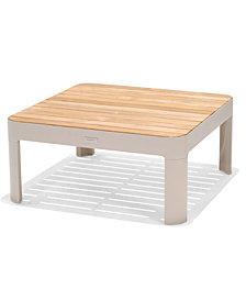 Modern Tropic Teak Outdoor Coffee Table, Created For Macy's