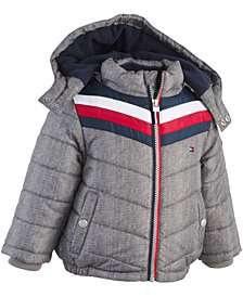 Tommy Hilfiger Baby Boys David Chevron Puffer Jacket