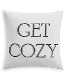 """Charter Club Damask Designs 16"""" x 16"""" Decorative Pillow, Created for Macy's"""