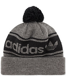 adidas Men's Originals Logo Pom Pom Beanie