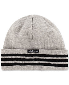 adidas Men's Three-Stripe Beanie