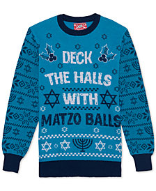 Matzo Balls Men's Holiday Sweater