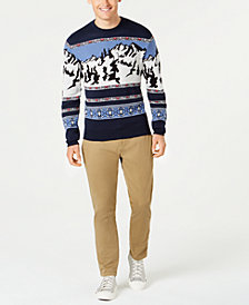 American Rag Men's Mountain Sweater & Stretch Chino Pants, Created for Macy's