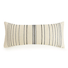 "Ayesha Curry Embroidered Stripe 12"" x 26"" Decorative Pillow"