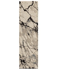 "Carolina Wild Great Falls Natural 2'3"" x 8' Runner Area Rug"